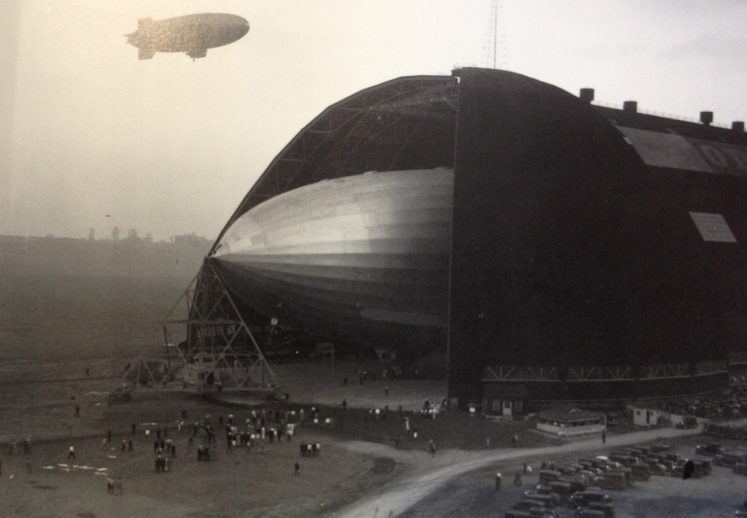 Zeppelin at the Goodyear Air Dock